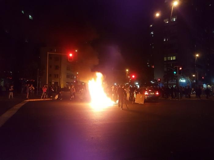 Беспорядки на улицах города