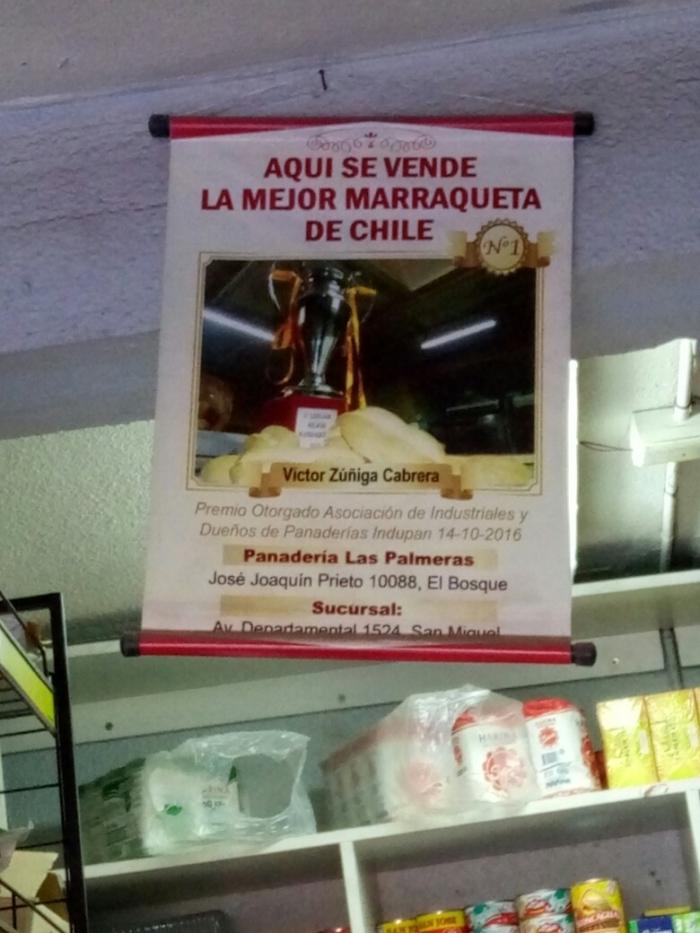 Гордость чилийцев :)