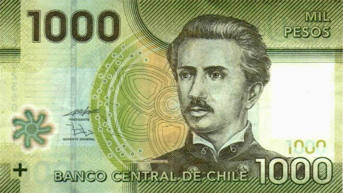 Тысяча песо в настоящее время