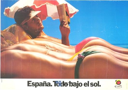 """Turespaña. Рекламная компания """"España. Todo bajo el sol"""" (1983)"""