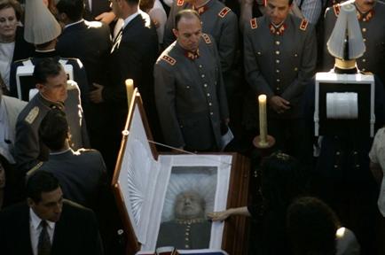 Похороны Аугусто Пиночета