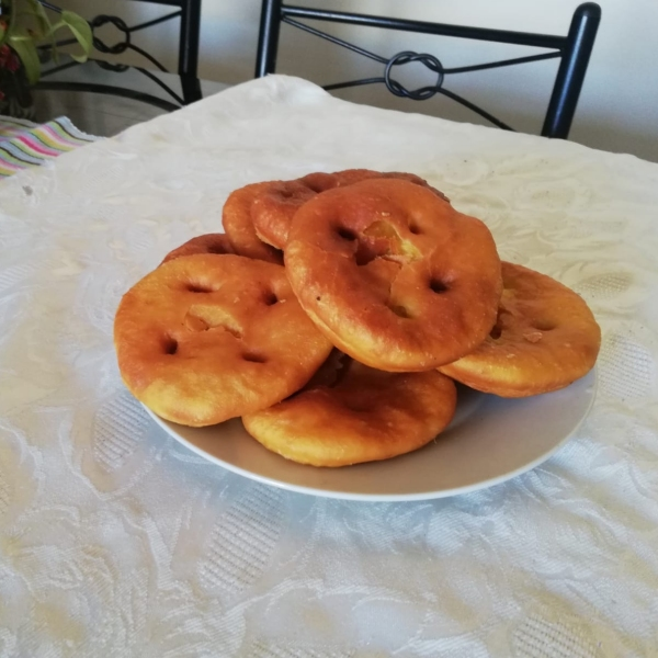 Sopaipillas caseras - вкусные штуки.