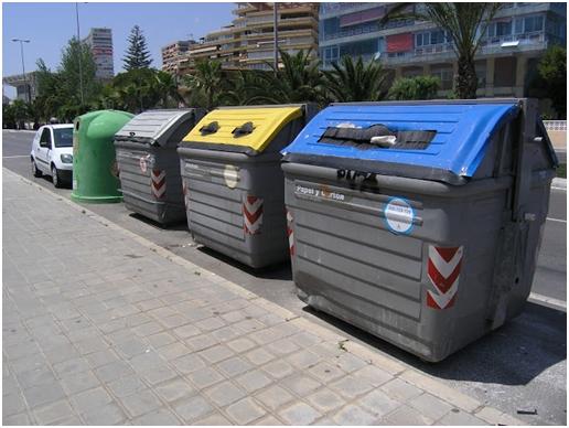 Разделение мусора в Испании