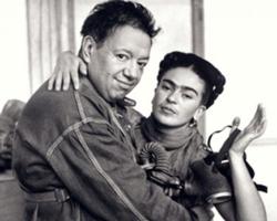Супруги и художники Фрида Кало и Диего Ривера