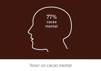 Tener un cacao mental