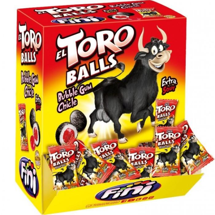 El Toro balls (Бычьи яйца) - жевательная резинка.