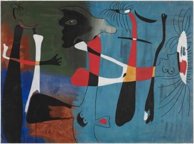 Без названия, 1934, Фонд Миро, Барселона,  Жоан Миро