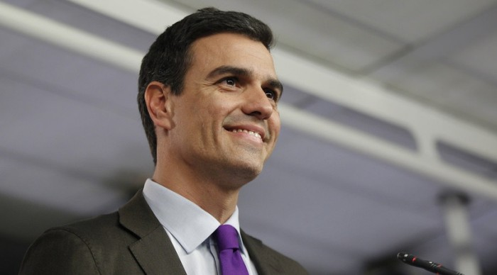 Pedro Sánchez — глава правительства Испании со 2 июня 2018 и лидер PSOE