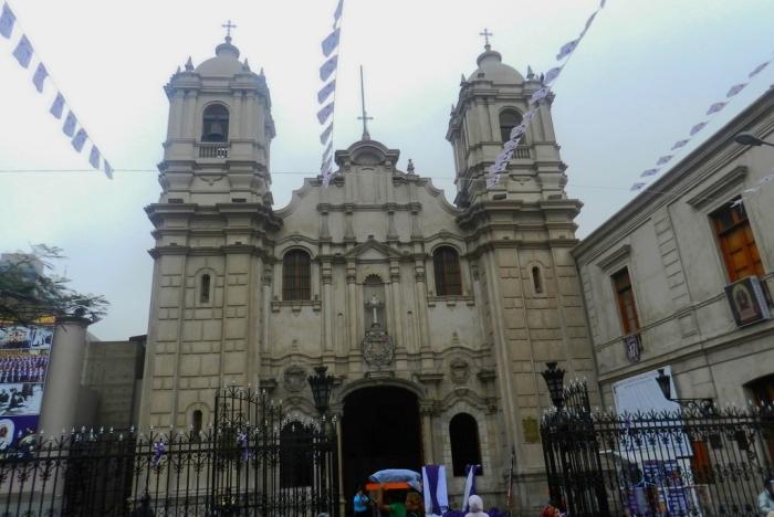 Церковь Назарянина (Las Nazarenas)