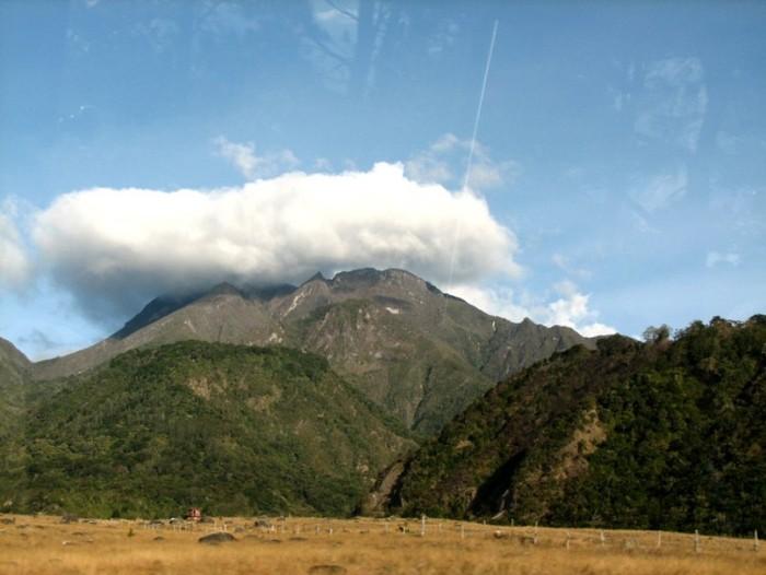 El volcán Barú
