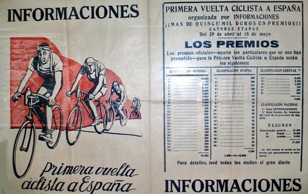 Первая La Vuelta a España 1935